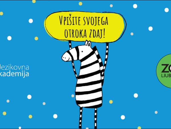Poletne delavnice angleščine za otroke od 6 do 12. leta, <br>v sodelovanju z ZOO Ljubljana!