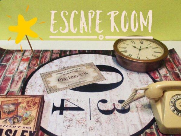 Soba po načinu escape rooma oz. sobe pobega, tudi za otroke!