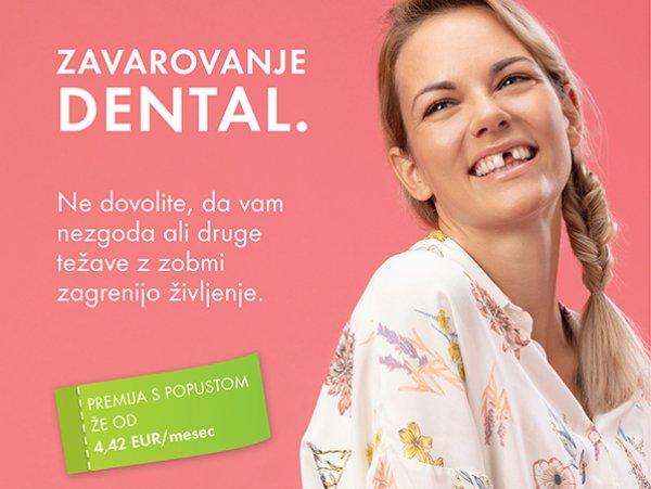 Z zavarovanjem Dental do prihrankov