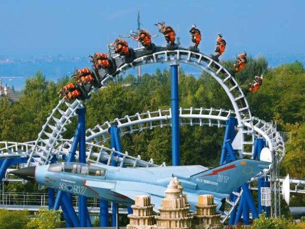 Promocijska cena za obisk adrenalinskega in zabaviščnega parka Gardaland, 15. 8. 2018!
