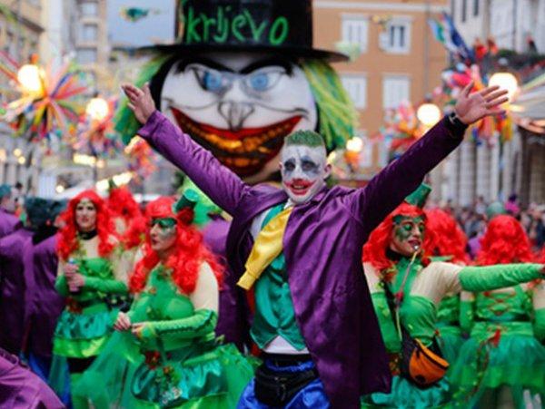 Veliki pustni karneval na Reki in obisk Opatije!