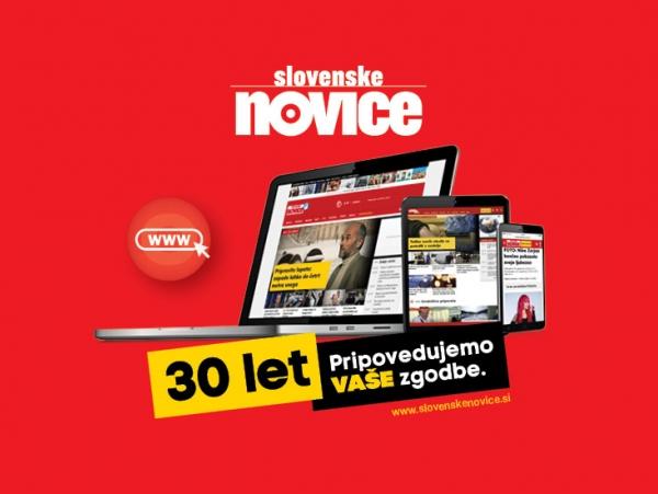 30 % ekskluzivni popust pri letni naročnini na Slovenske novice<br>v spletni izdaji!