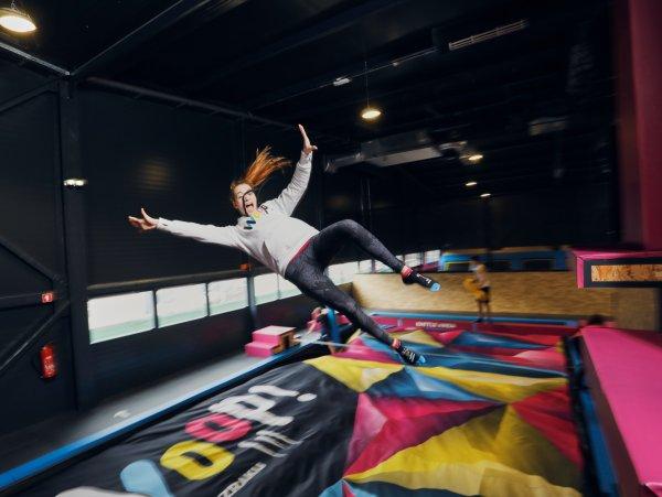 Poletna šola akrobatike na trampolinih!